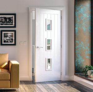 Primed Glazed Doors